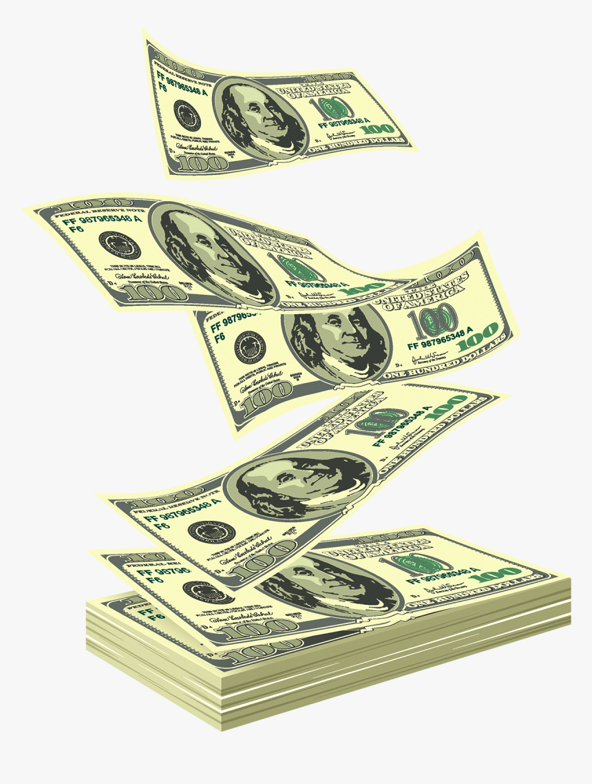 United States Dollar Royalty Free United States One - Transparent Background Dollar Gif, HD Png Download, Free Download