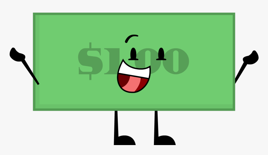 1 Dollar Bill Pose - Illustration, HD Png Download, Free Download