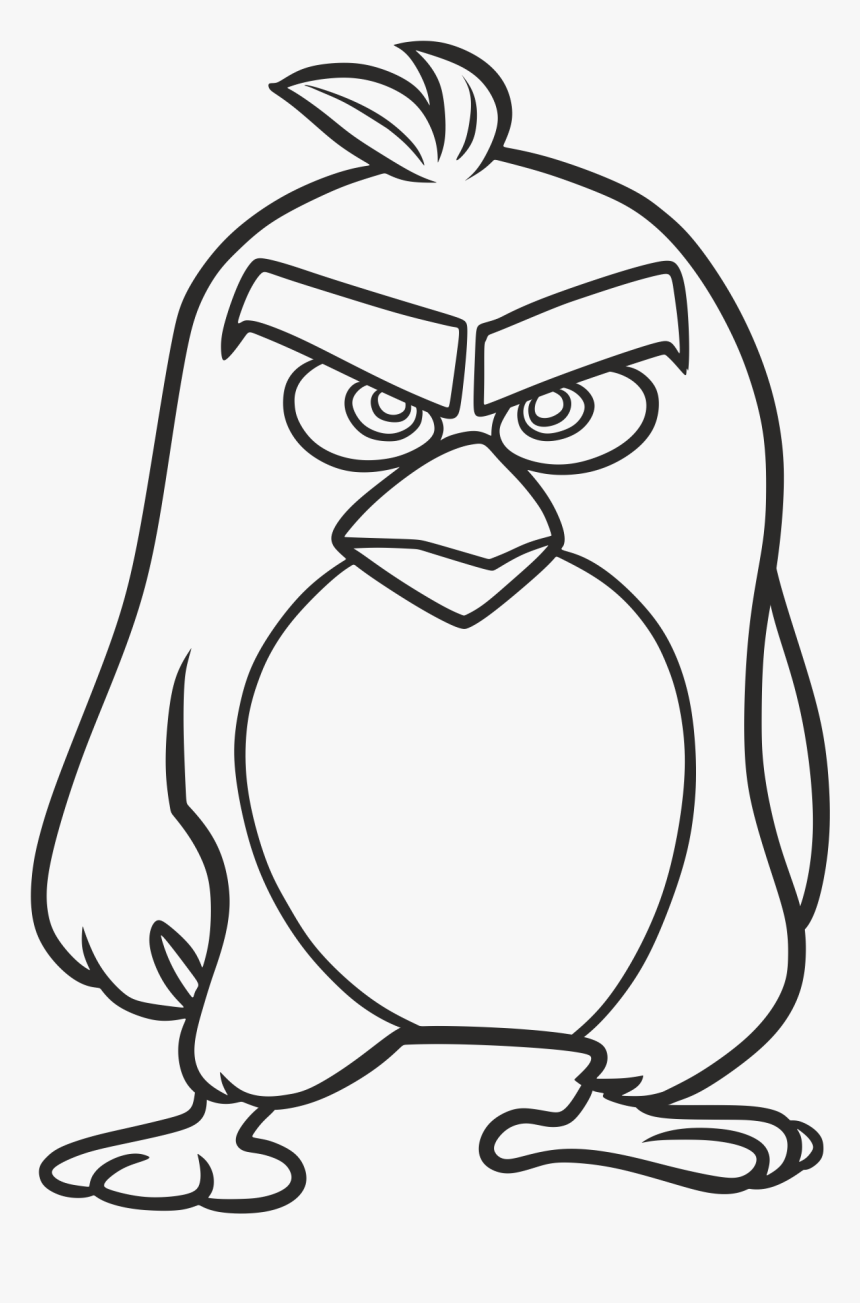 Png Royalty Free Library Angry Birds Go Youtube Film Angry Bird Cartoon Drawing Transparent Png Kindpng