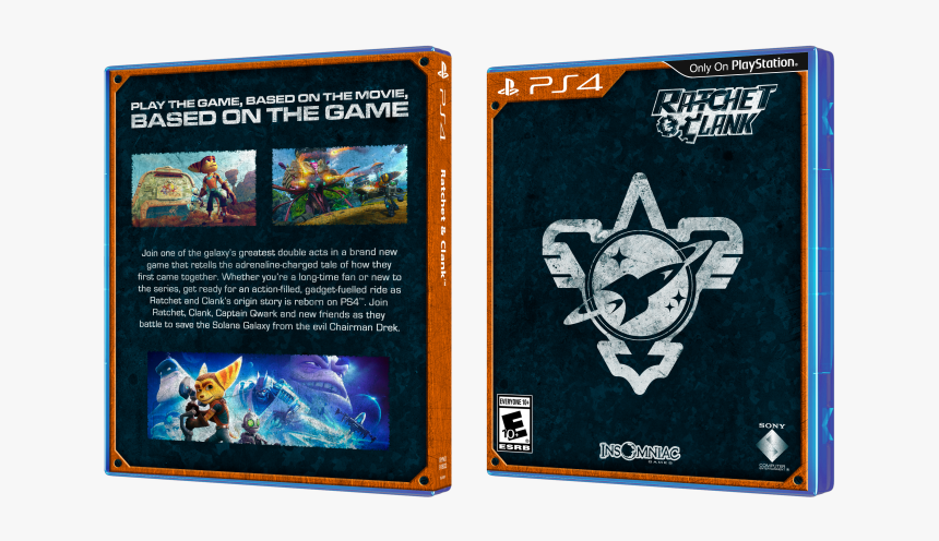 Ratchet Clank Box Art Cover Art Of Ratchet And Clank Book Hd