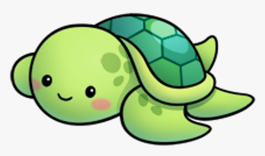 Kawaii Sticker By Gracie - Cute Turtle Drawing Easy, HD Png Download, Free Download