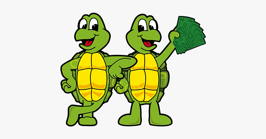 Turtle Clipart Snake - Turtle With Money Clip Art, HD Png Download, Free Download