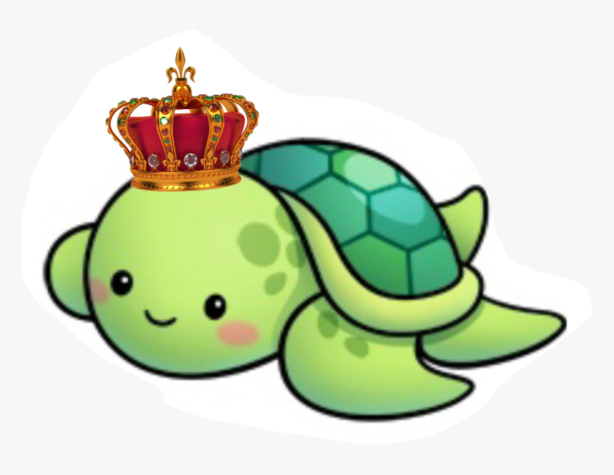 Dad Prince Family - Cute Turtle Drawing Easy, HD Png Download, Free Download
