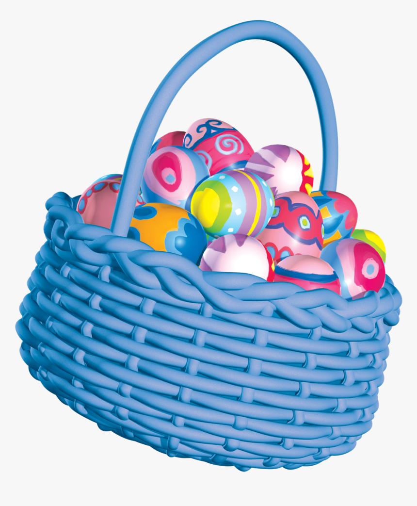 Easter Basket Png Photos - Clipart Easter Egg Basket, Transparent Png, Free Download