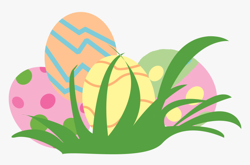 Easter Eggs In Grass Png, Transparent Png, Free Download