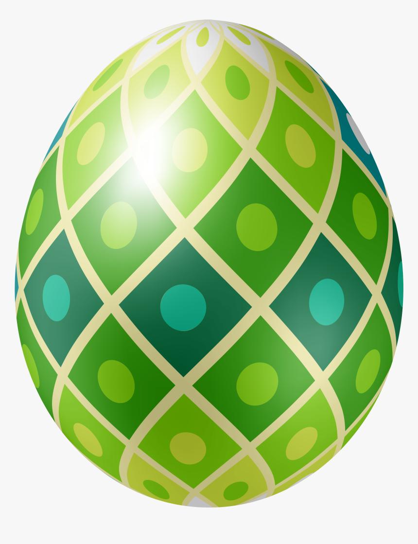 Easter Egg Png Green - Green Easter Egg Png, Transparent Png, Free Download