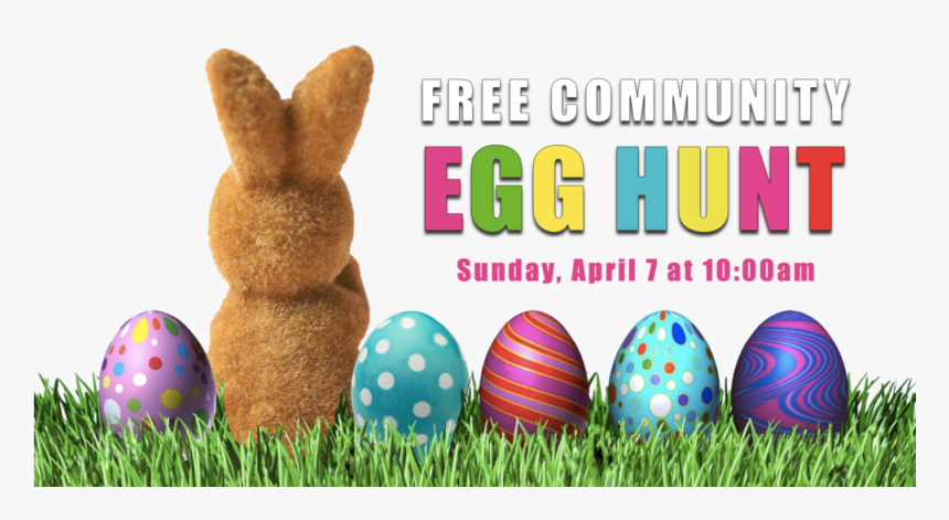 Easter Egg Hunt Graphic April 7 10am E - Easter, HD Png Download, Free Download