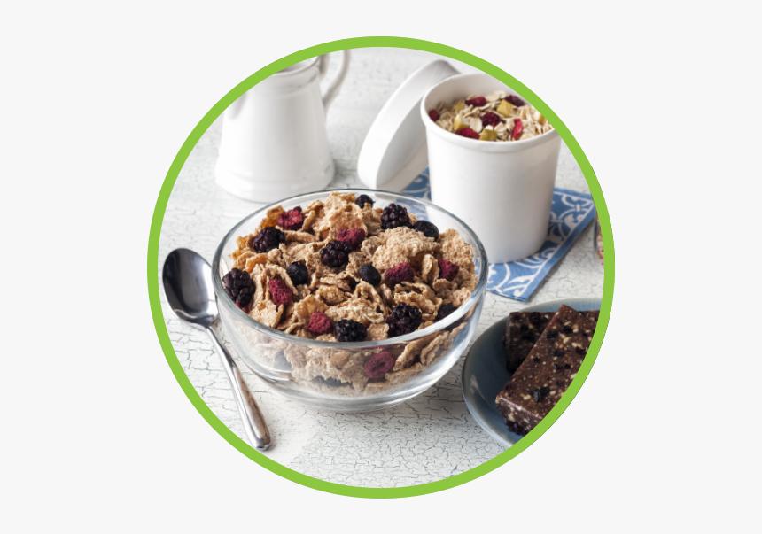 Breakfast Md Circle - Muesli, HD Png Download, Free Download