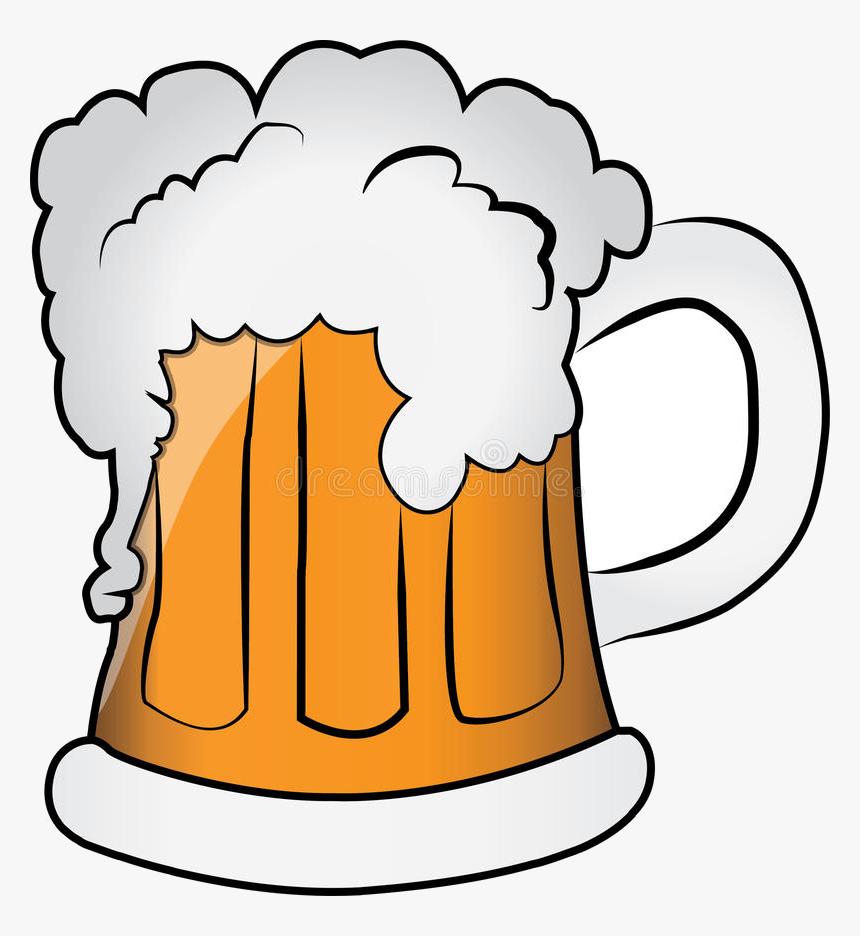 Beer Mug Of Clipart Transparent Png - Mug Of Beer Clip Art, Png Download, Free Download