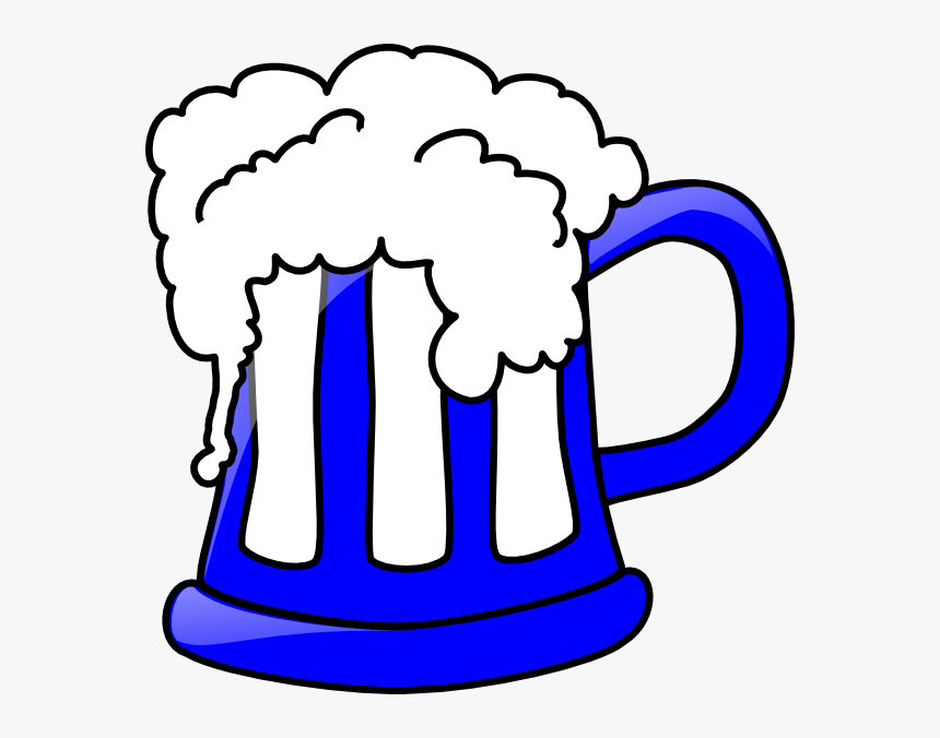 Blue Beer Mug Svg Clip Arts - Beer Stein Clipart, HD Png Download, Free Download
