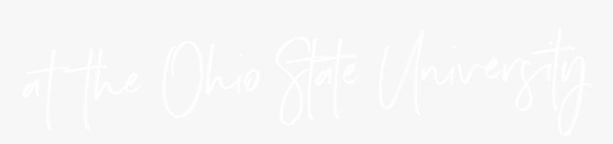 Osu - Johns Hopkins Logo White, HD Png Download, Free Download