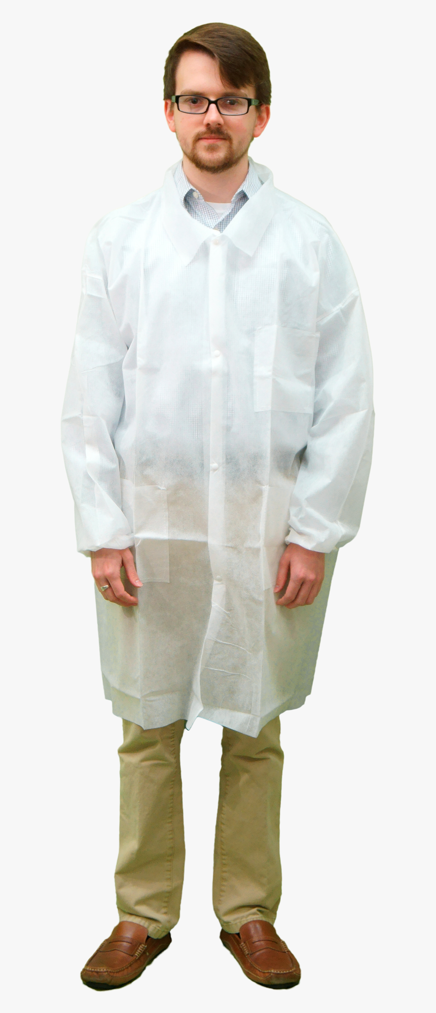 Person In Lab Apron, HD Png Download, Free Download