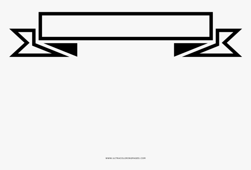 Transparent Black Ribbon Banner Png - White Ribbon Banner Png, Png Download, Free Download