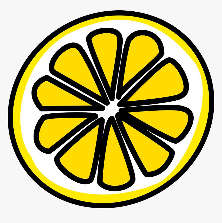 Slice Of Lemon Clipart, HD Png Download, Free Download