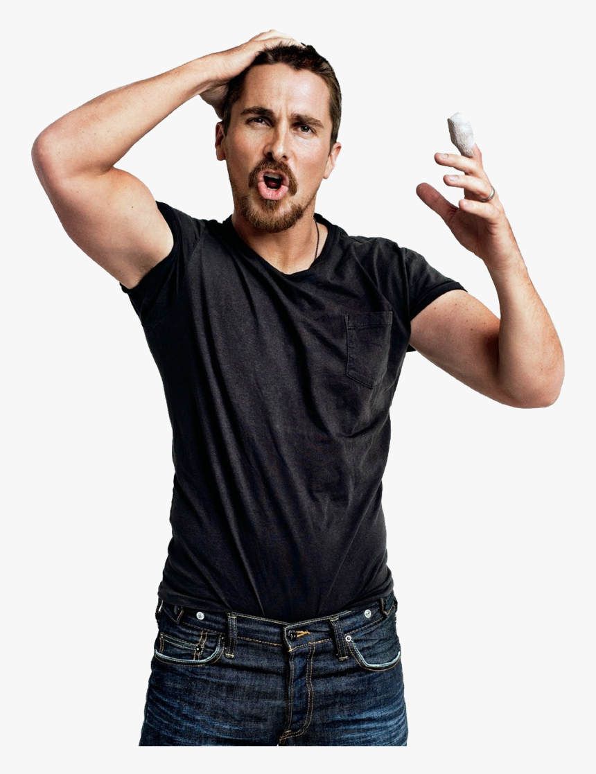 Christian Bale Hd - Christian Bale Transparent, HD Png Download, Free Download
