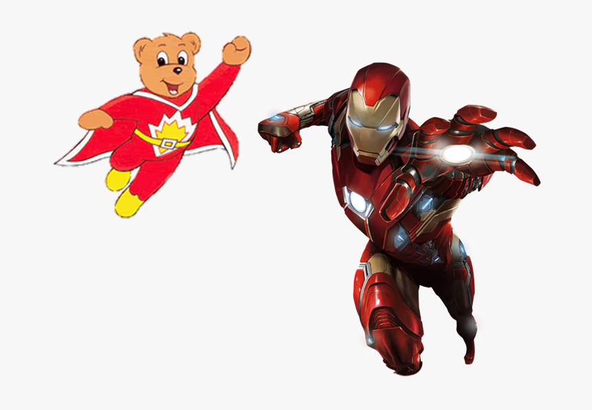 Iron Man And Superted Flying - Mcu Iron Man Civil War, HD Png Download, Free Download