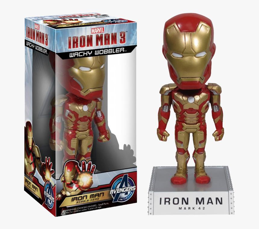 Wacky Wobbler Iron Man, HD Png Download, Free Download