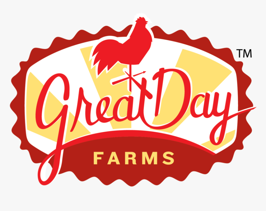 Home Page Great Day Farms Logo 4 Color Process - Great Day Farms, HD Png Download, Free Download