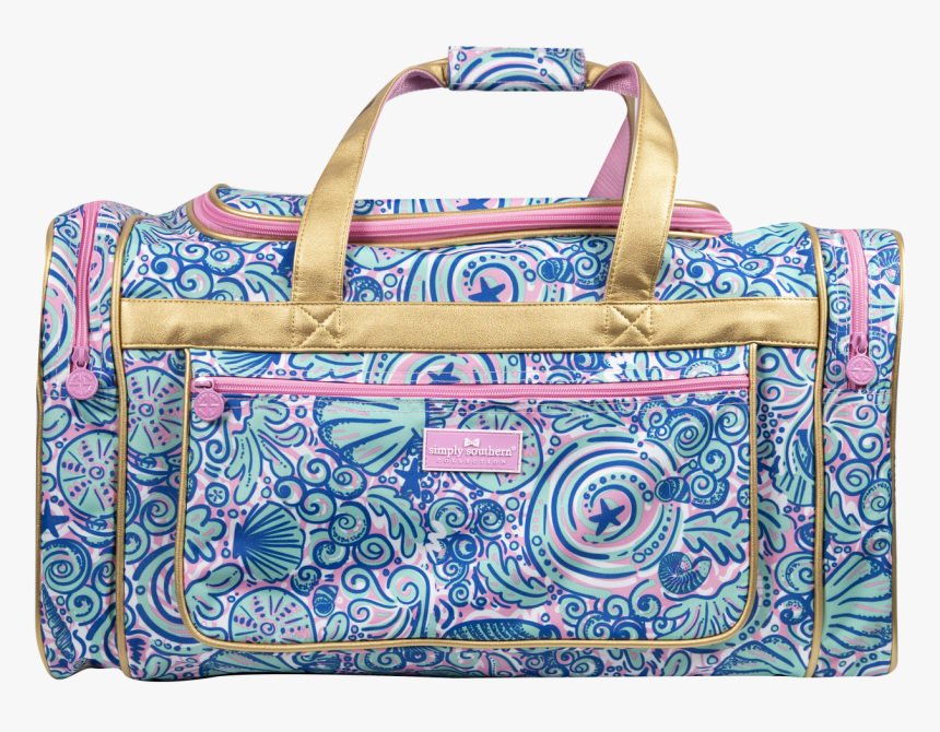 Simply Southern Duffle Bag - Simply Southern Swirly Duffle Bag, HD Png Download, Free Download