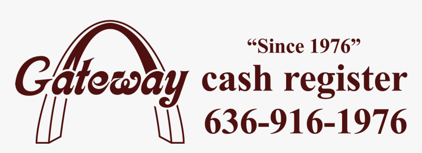 Gateway Cash Register - Calligraphy, HD Png Download, Free Download