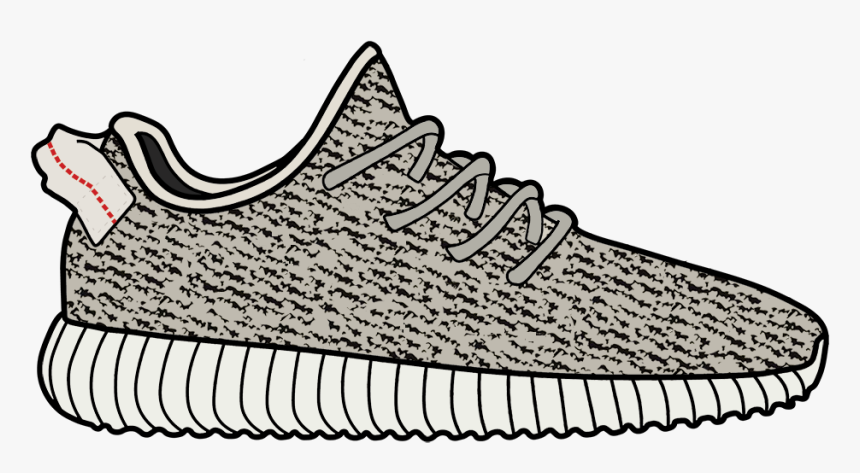 Transparent Background Yeezy Clipart, HD Png Download, Free Download