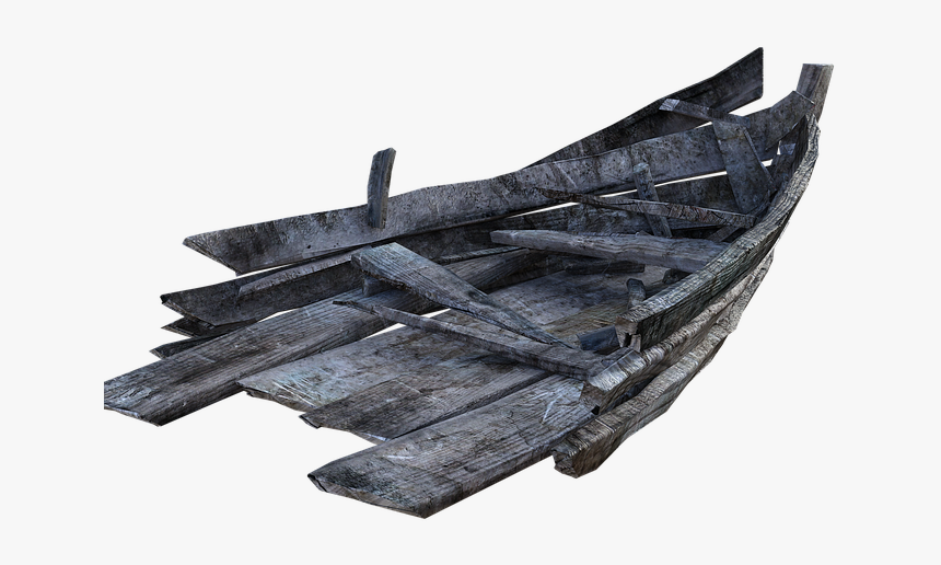 Rowboat Old Driftwood Fishing Boat Vessel Transparent Old Rowboats Hd Png Download Kindpng
