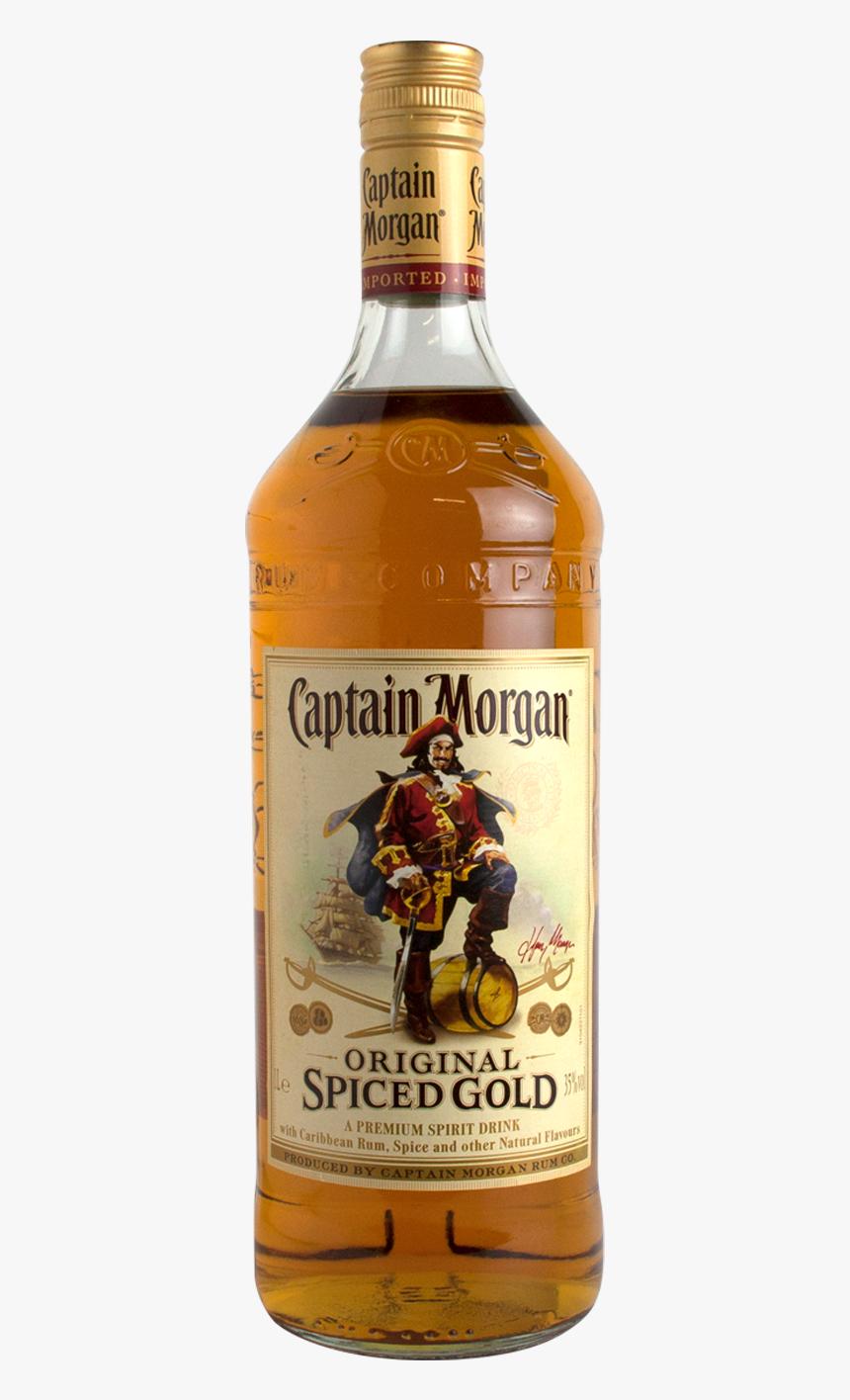Captain Morgan Spiced 1l - Captain Morgan, HD Png Download, Free Download