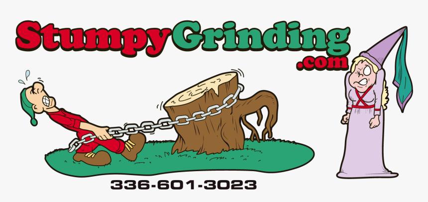 """Doug Warren""""s Stump Grinding Site - Cartoon, HD Png Download, Free Download"""