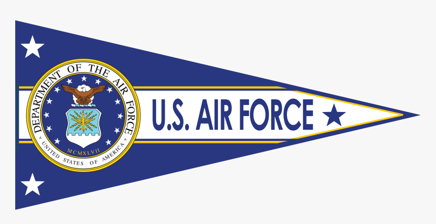 Us Air Force Pennants, HD Png Download, Free Download