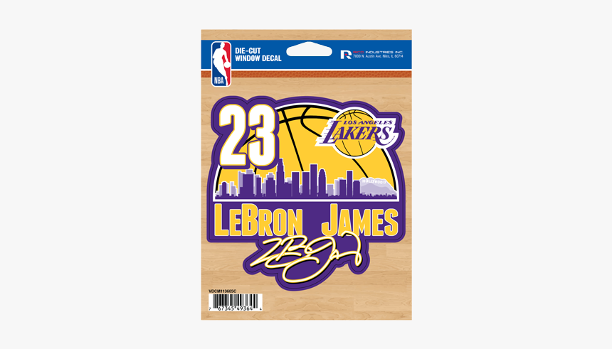 Los Angeles Lakers Lebron James Decal Angeles Lakers Hd