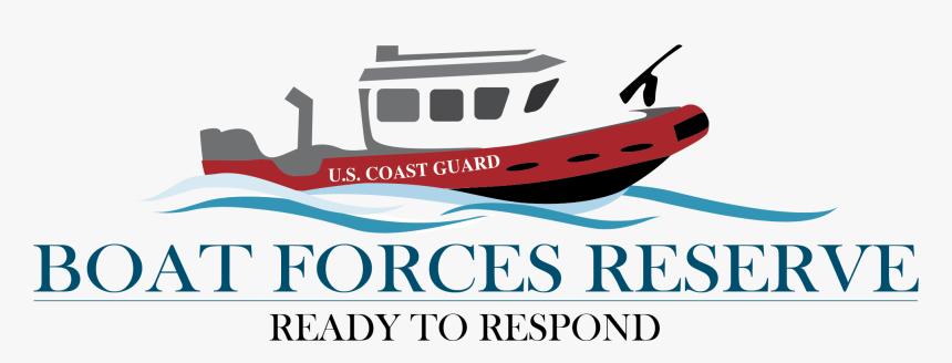 Boat Force Reserve Logo - Coast Guard Logo Boat, HD Png Download, Free Download