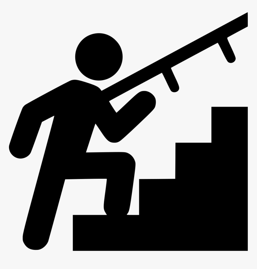 Stairs Stairway Stair - Stairway Icon, HD Png Download, Free Download