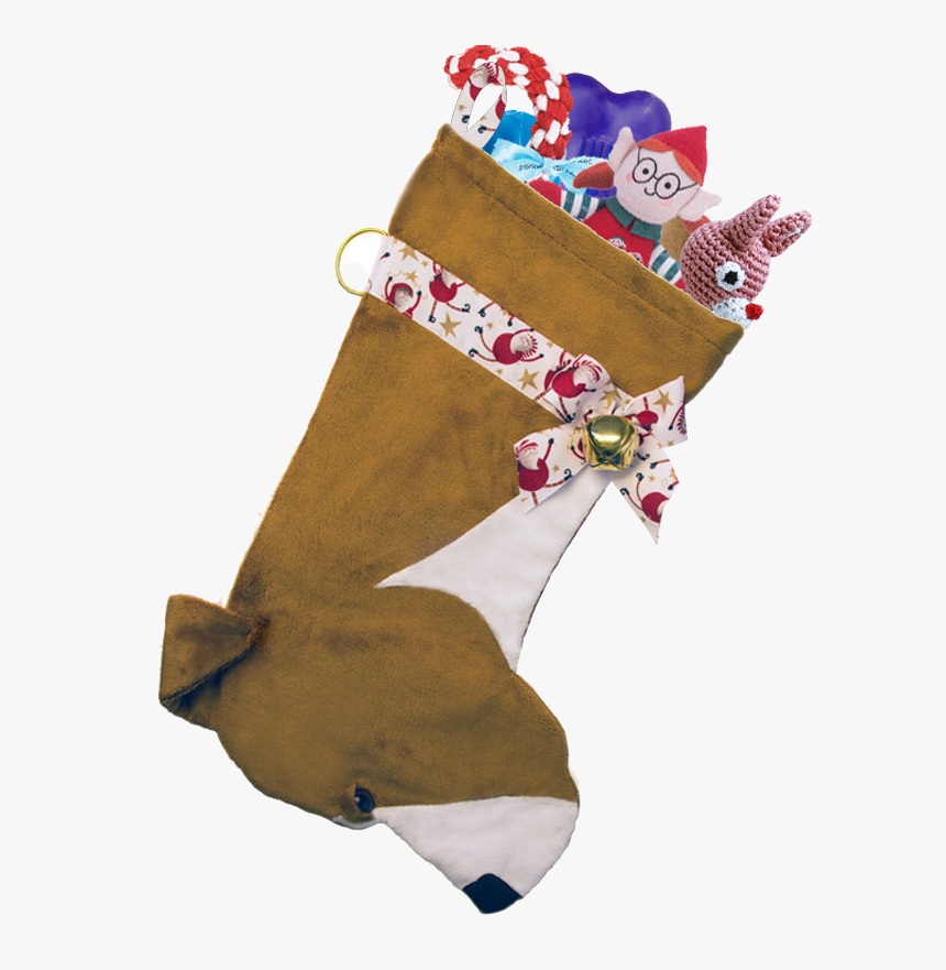 This Pit Bull Dog Christmas Stocking Is The Perfect - Christmas Stocking, HD Png Download, Free Download