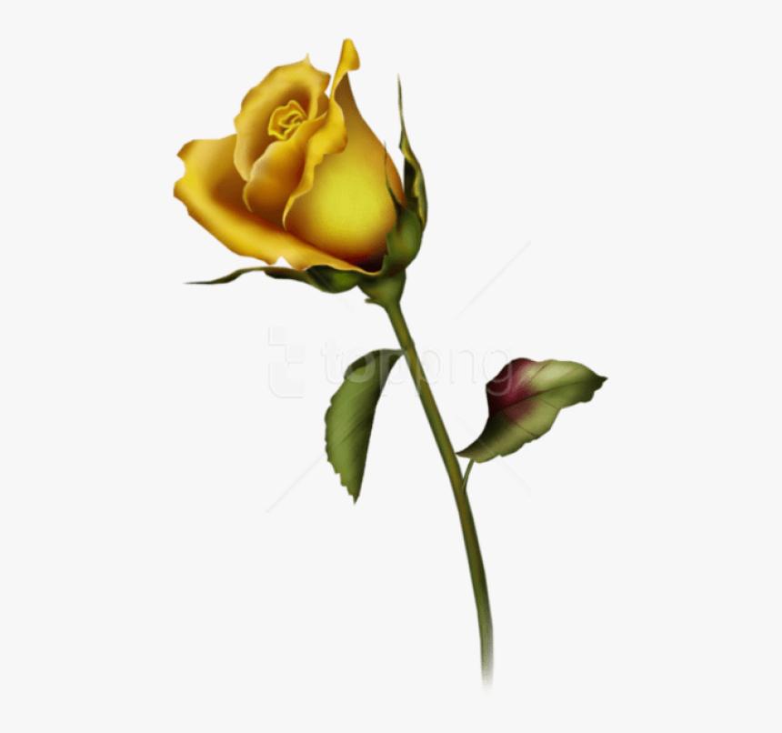 Tattoo single rose 40 Lovely