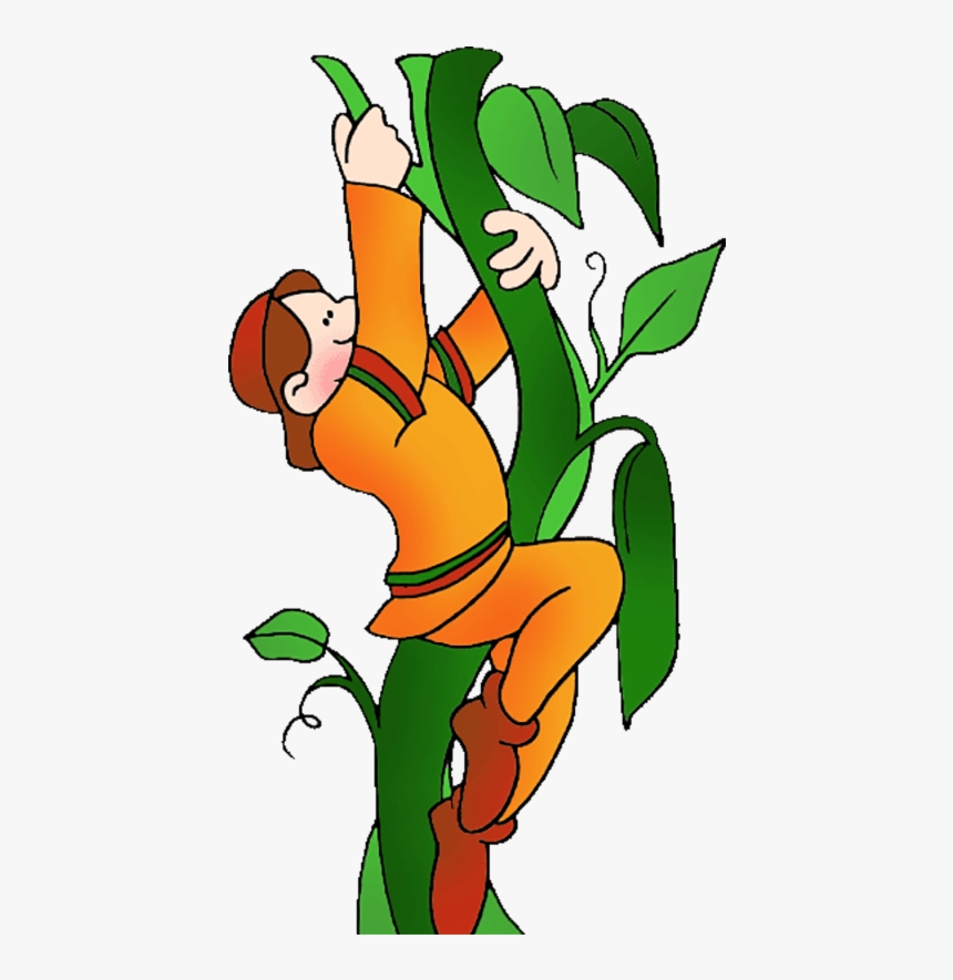 Soil Clipart Loam Jack Climbing The Beanstalk Transparent - Clipart Jack And The Beanstalk, HD Png Download, Free Download