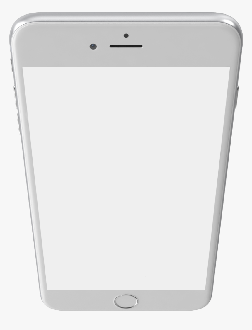 Iphone 6 Plus Silver Png Image - Iphone, Transparent Png, Free Download