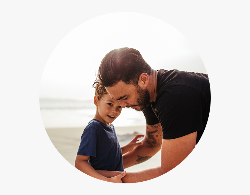 Homme Avec Son Fils, HD Png Download, Free Download