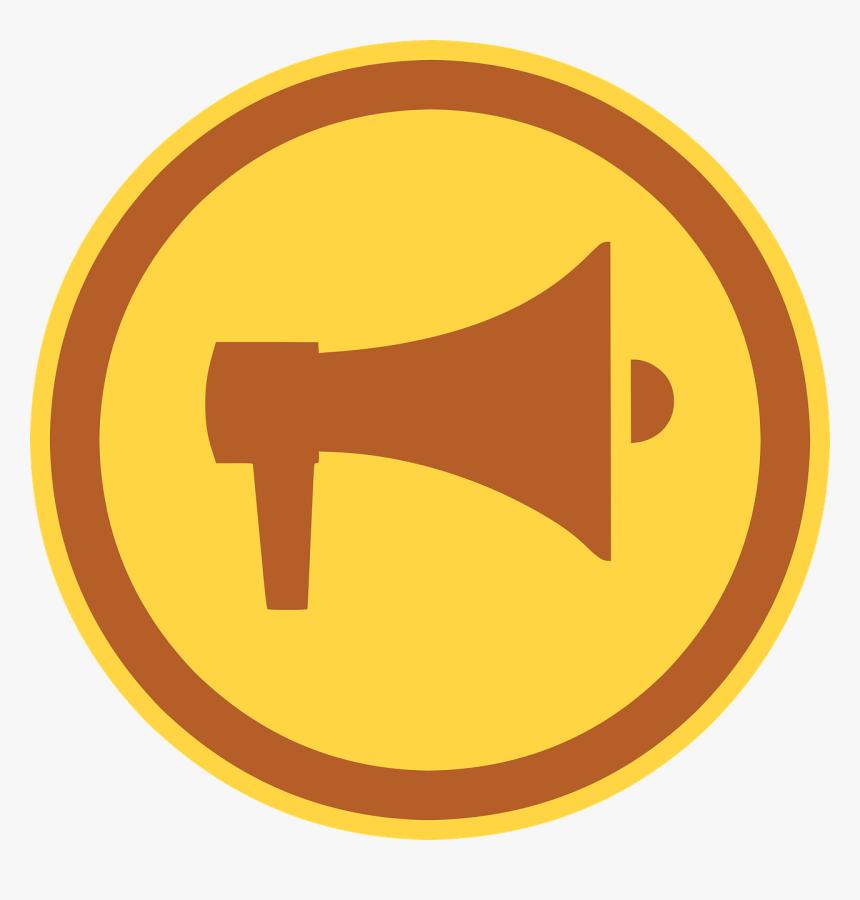 Megaphone, Bullhorn, Icon, Broadcast, Loud, Loudspeaker - Megaphone, HD Png Download, Free Download