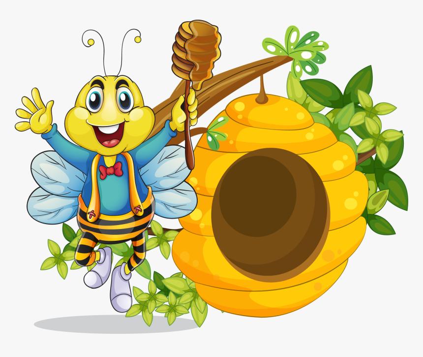 Hive Clipart Beehive Beehive Cartoon Png Transparent Png Kindpng