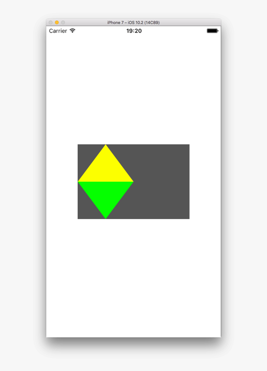 Two Shapes - Triangle, HD Png Download, Free Download