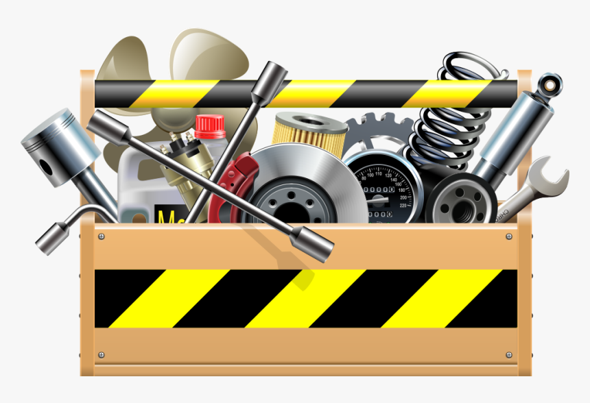 Vector car parts icons set.