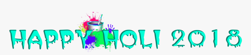 Holi Text Png, Transparent Png, Free Download
