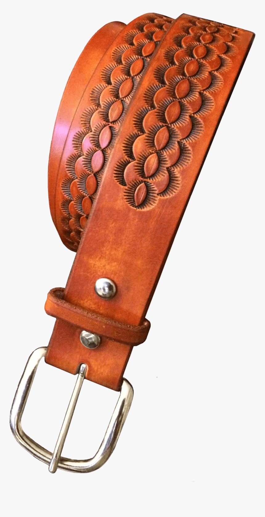 Arizona Hand Tooled Belt - Belt, HD Png Download, Free Download