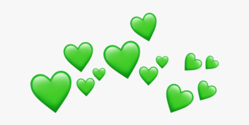 Aesthetic Clipart Transparent Green - Wholesome Memes Hearts Png, Png Download, Free Download
