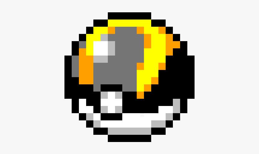Pixel Art Ultra Ball Hd Png Download Kindpng