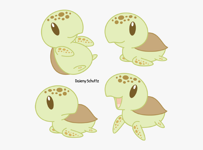 Chibi Loggerhead Sea Turtle By Daieny Cute Sea Turtle Drawing Hd Png Download Kindpng
