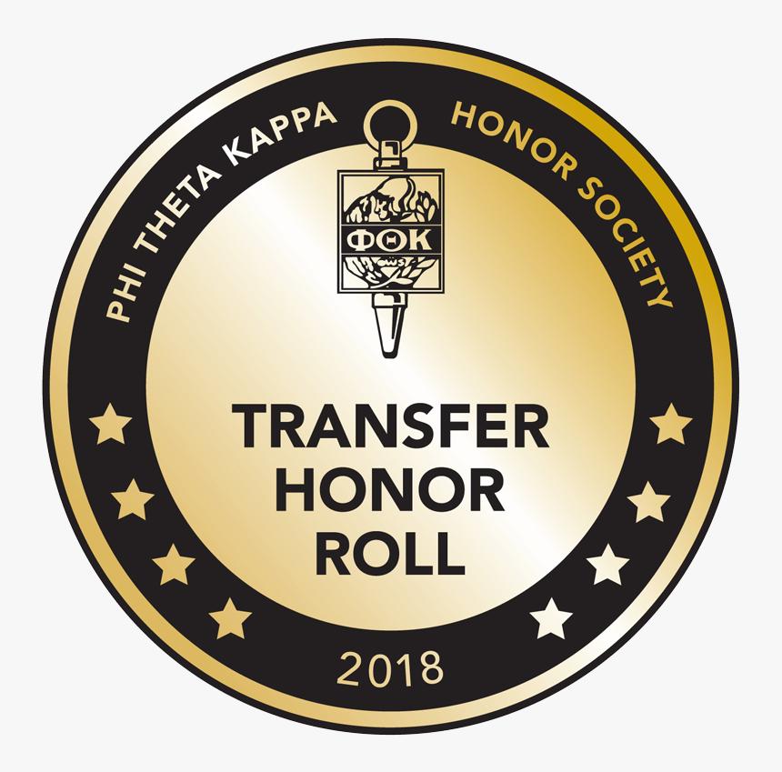 Ptk Honor Roll Emblem Gold - Phi Theta Kappa, HD Png Download, Free Download