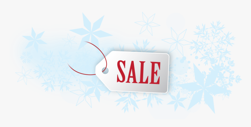 Small Business Saturday Sale Snowflakes - Motif, HD Png Download, Free Download