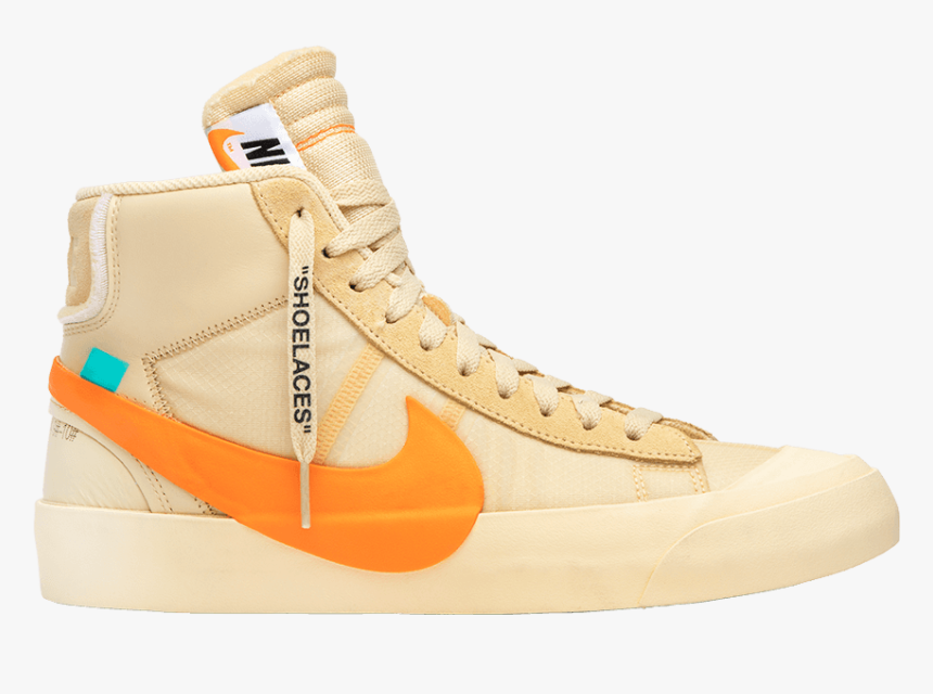 Nike Blazer Mid Off White, Png Download
