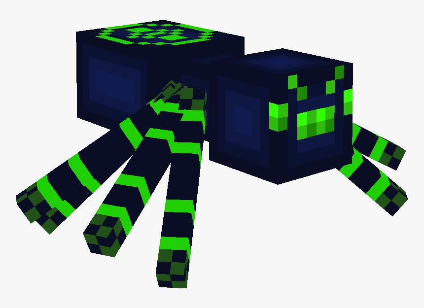 Transparent Minecraft Spider Png - Ender Cave Spider Minecraft, Png Download, Free Download